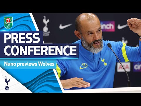 Nuno previews return to Molineux in Carabao Cup clash v Wolves!