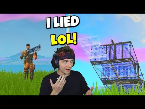 every kill i act like a noob in fortnite... (it's so easy)