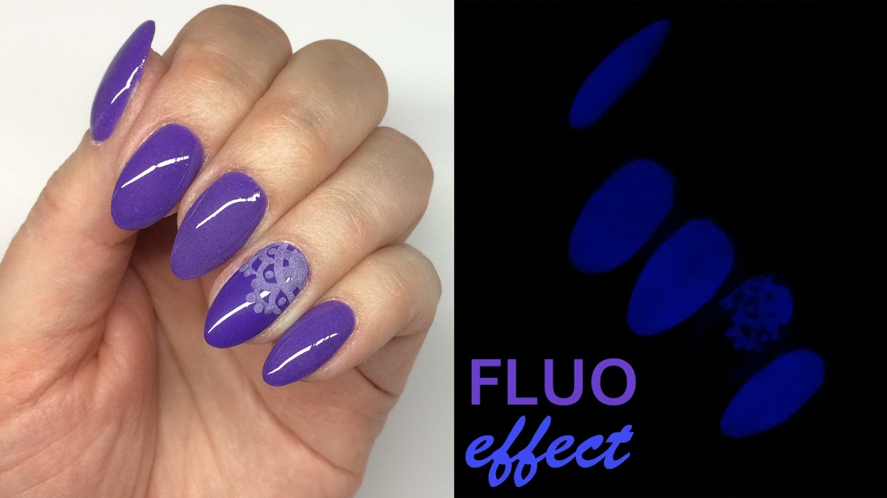FLUO effect nails | fl...
