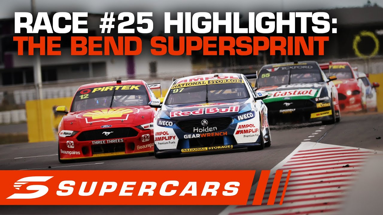 Download Highlights: Race #25 - The Bend SuperSprint | Supercars 2020