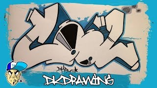 How to draw cool graffiti letters step by step(DK's Graffiti Shop: http://www.dkdrawing.bigcartel.com Etsy: https://www.etsy.com/de/shop/DKDrawing This is my new graffiti workshop. The next weeks i want to ..., 2015-10-21T17:00:00.000Z)