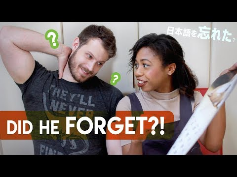 Can he still SPEAK JAPANESE?! [with subtitles]