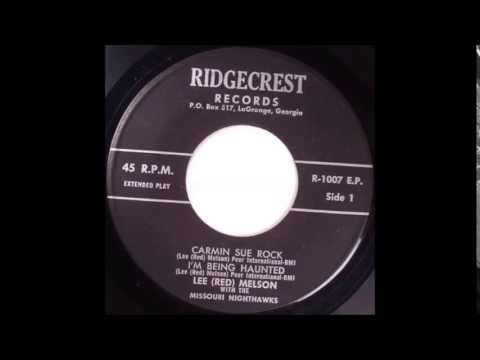 Lee Red Melson With The  Missouri Nite Hawks Carmin Sue Rock  RIDGECREST 1007 EP