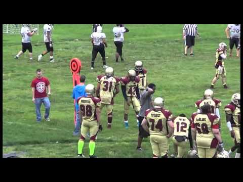 2013 Marion County Crusaders vs Tri-County Raiders - IFL Pre