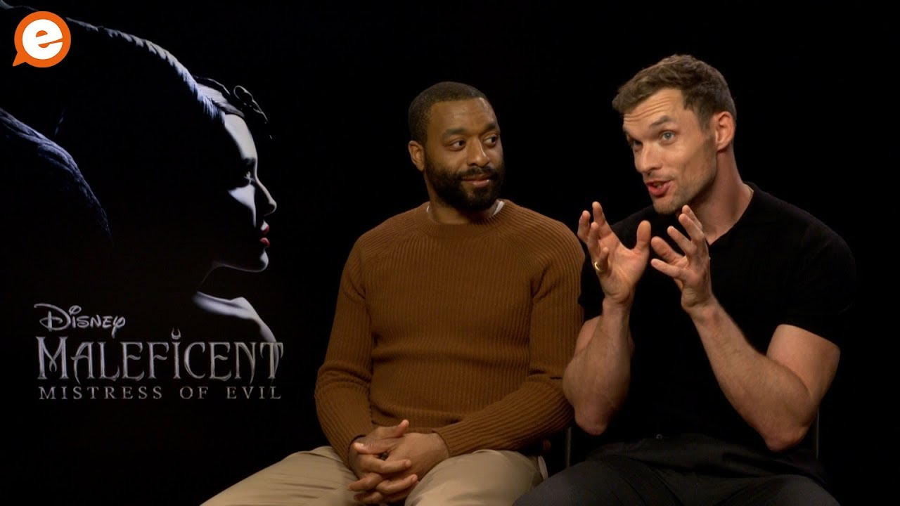 Chiwetel Ejiofor And Ed Skrein Talk Maleficent Mistress Of Evil And Playing Bad Guys