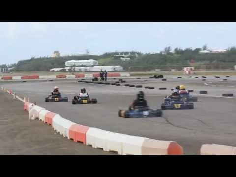 #4 Karting Racing Bermuda February 5 2012