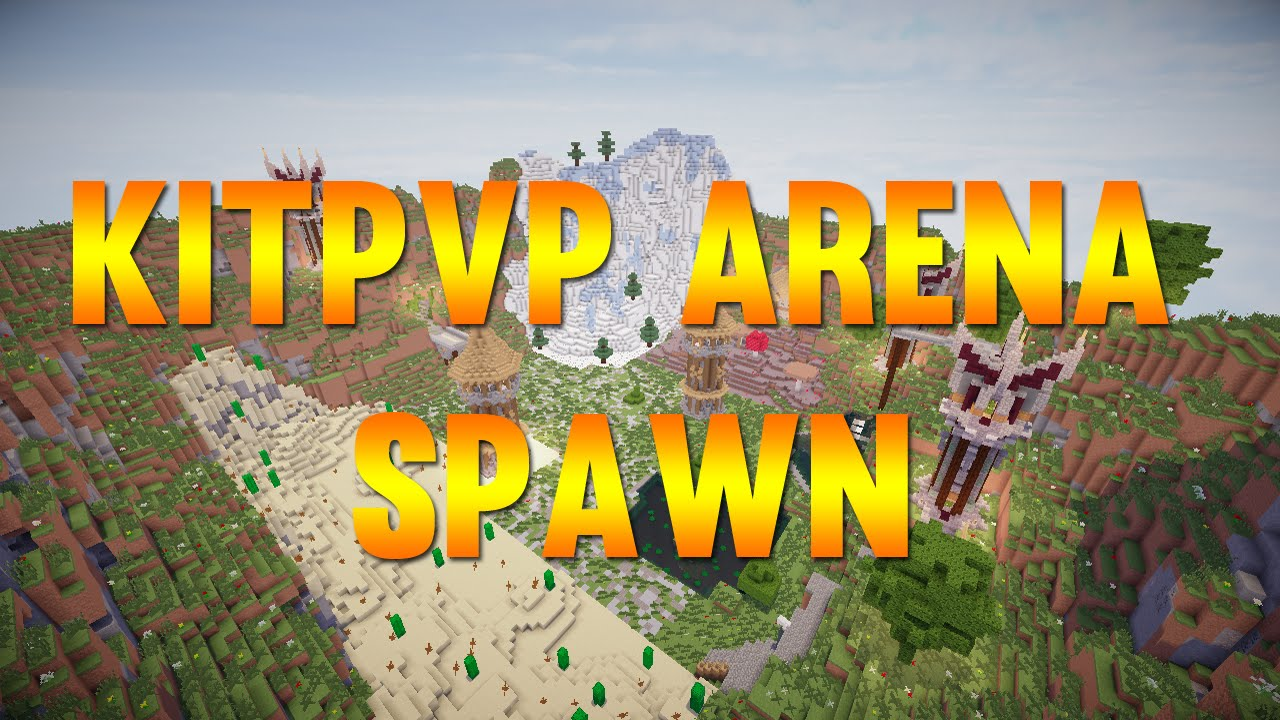 Minecraft - KitPvP / PvP Arena World/Schematic [1 7 - 1 12] [FREE DOWNLOAD]