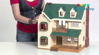 Дом с мансардой Deluxe Sylvanian Families 2735