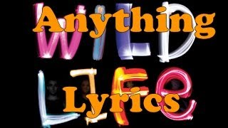 Repeat youtube video Hedley - Anything lyrics