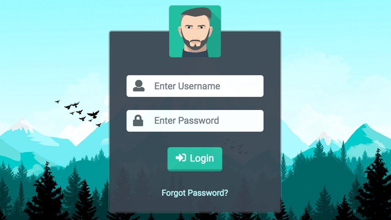 Bootstrap Login Template Free from i.ytimg.com