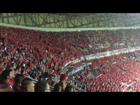 Wales sing Land of my fathers