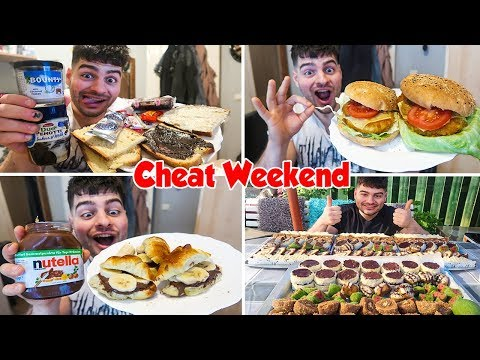 MY BIG FOOD CHEAT WEEKEND | Nutella Croissants, Bounty spread, Home made SWEETS & more | SLAVA 2018