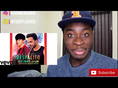 Luis Fonsi Despacito 緩緩 Mandarin Version Audio ft JJ Lin *REACTION*