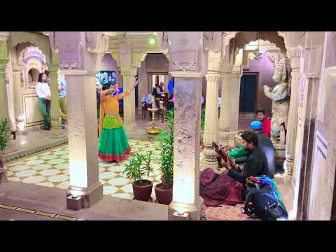 Live Indian Classical Dance Performance At Brij Rama Palace Hotel In Varanasi