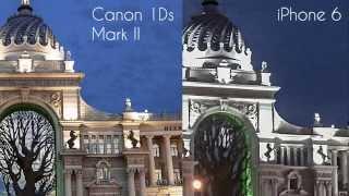 Canon 1Ds против iphone 6! Кто победит?(На YouTube мы публикуем лишь малую часть уроков... Все самые редкие и эксклюзивные видео по фотографии Вы найде..., 2015-08-18T18:38:35.000Z)