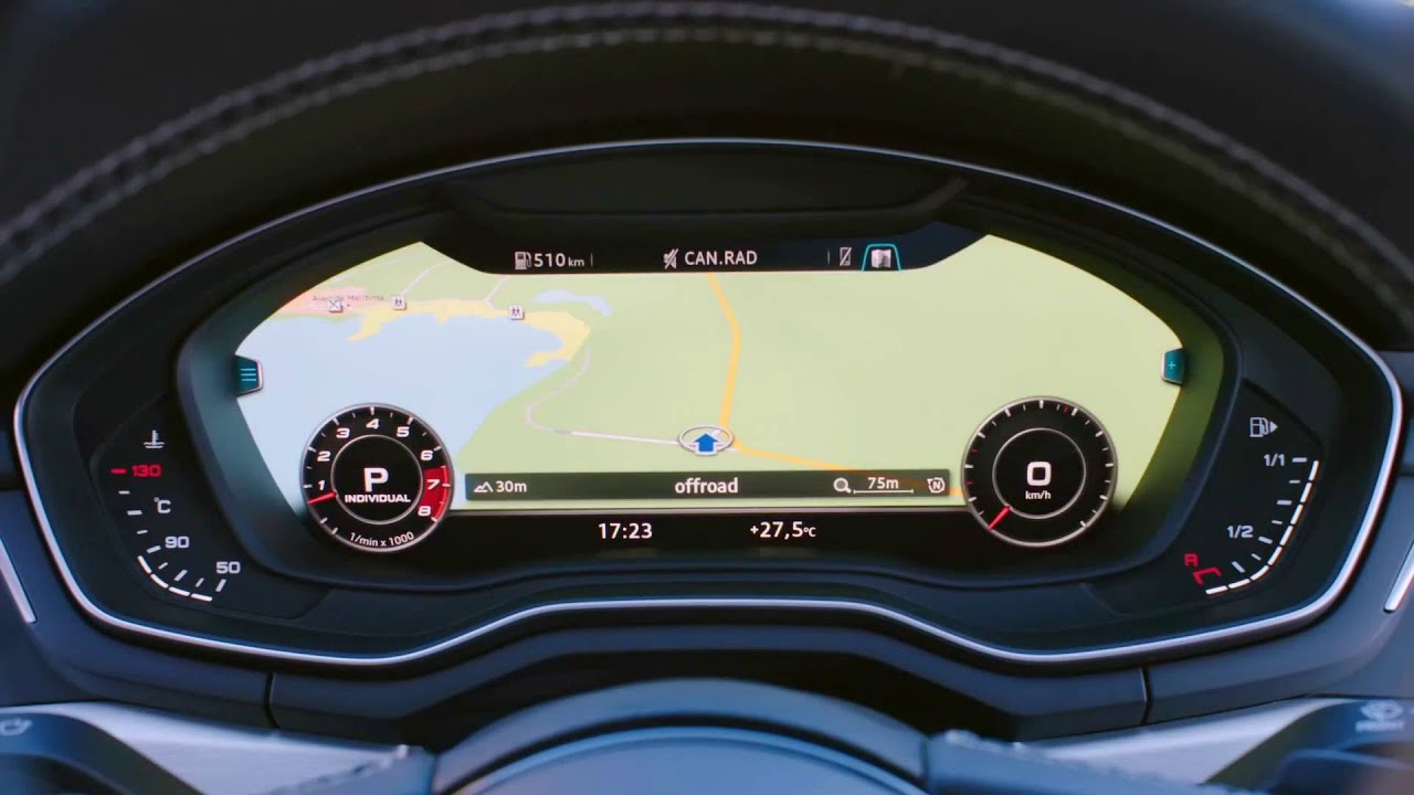 All New 2017 Audi S5 Coup 232 Dashboard Youtube
