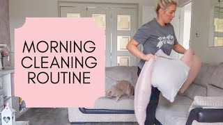 MORNING CLEAN WITH ME | CLEANING MOTIVATION | SPEED CLEAN COLLAB WITH ZOE ANNABELLE