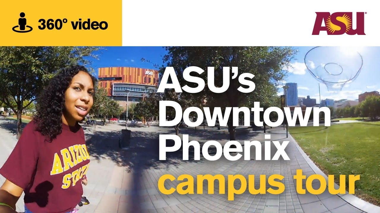 360 Video Asus Downtown Phoenix Campus Tour  Arizona -2254