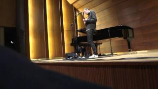 "Chris Thile & Brad Mehldau ""The Watcher"" live in Hamburg 2014"