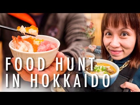 SUPERTRAVELME - Food Hunt in Hokkaido