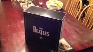 Beatles LP Vinyl Box Set opening
