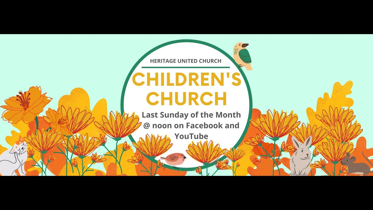 Children's Church - October 2020
