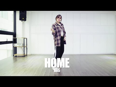 BTS- HOME / Ga Young Koreografi Tari