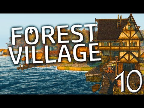 WE NOW HAVE A PORT AND AN ORCHARD! (Correctly Sized) | Life is Feudal  Forest Village Gameplay E10