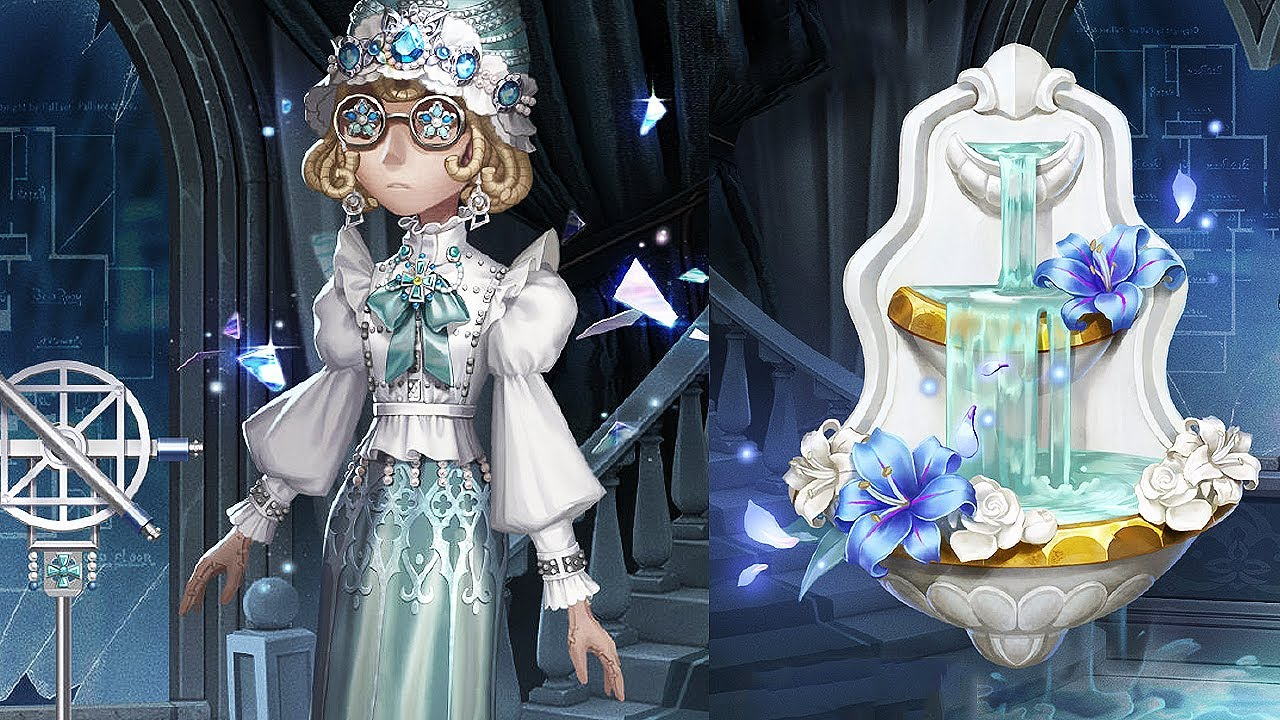 """""""Architect"""" & """"Memories of the past"""" – Mind's Eye pack / S Costume, A acc. / Design / Identity V"""