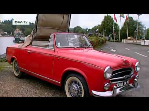 Vintage -- the Peugeot 403 convertible   drive it