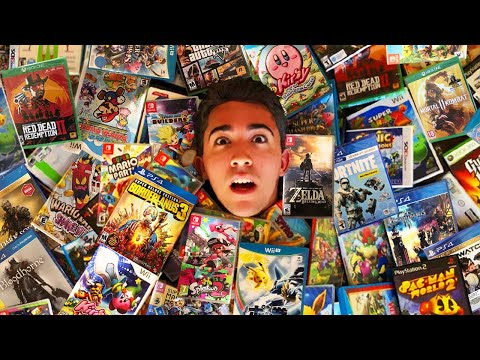 Selling OVER $100,000 Worth Of Games To GameStop!