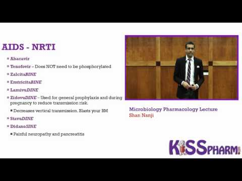 HIV/AIDs Drugs Made Insanely Easy by KISSPharm