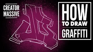 How to draw graffiti ep01