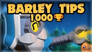 PRO Tips from 1000 Trophy Barley 🍊