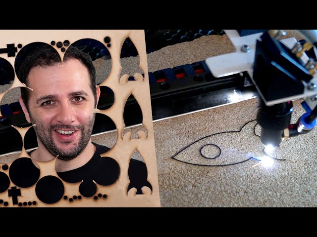 Como funciona o corte a laser #ManualMaker Aula 9, Vídeo 1