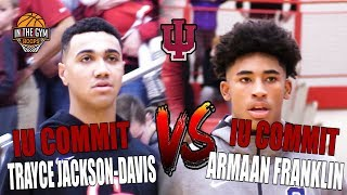 Cathedral High school IU Commit Armaan Franklin vs (NEW) Center Grove IU Commit Trayce Jackson-Davis