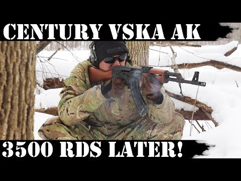 Century VSKA AK: 3,500 Rounds Later!