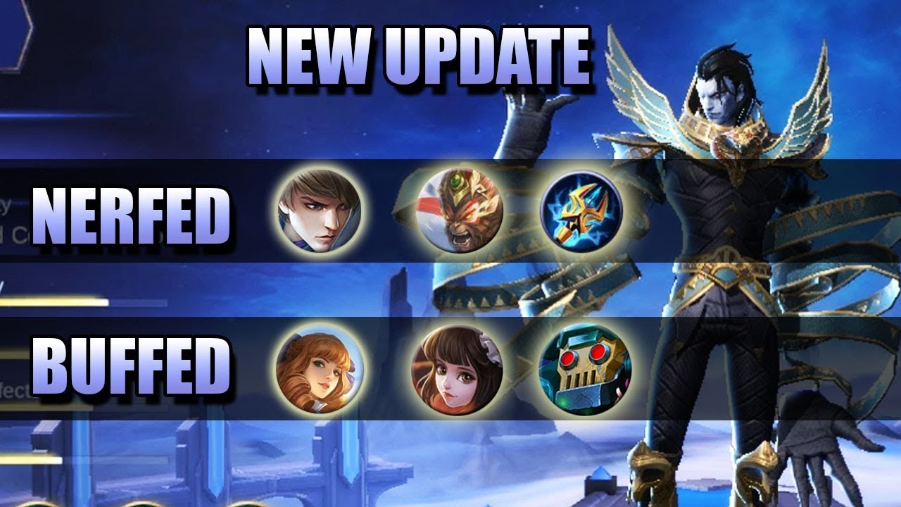 NEW UPDATE - GUSION NERF AND LIGHTNING TRUNCHEON NERF
