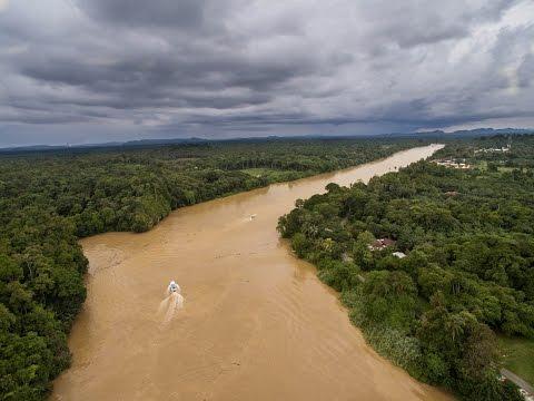 Travel in Malaysian Borneo- Drone Aerial Video