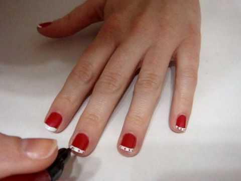 simple nail art tutorial using migi nail art pens  youtube