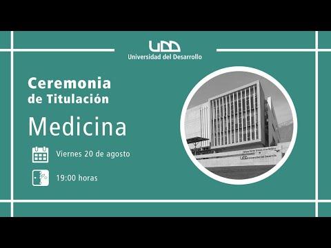 Ceremonia de Titulación | Medicina | Sede Santiago