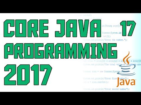 Java Programming 2017 Using multiple Methods and constructors #17