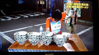 Crazy Japanese Noodle Eating Contest