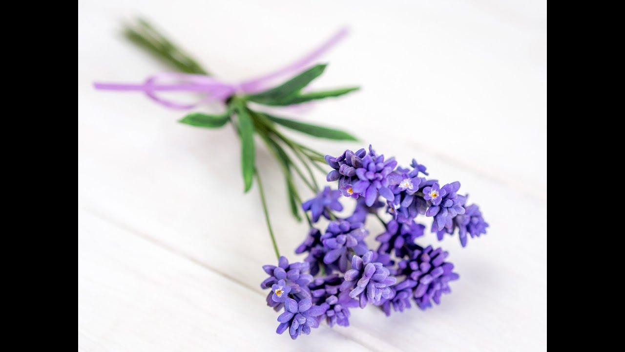 Lavendel aus Blütenpaste / Lavender Tutorial (English Subtitles ...