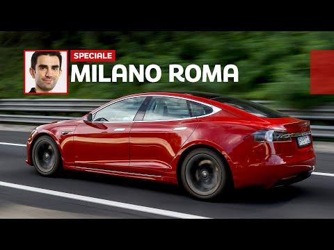 Milano-Roma in TESLA: