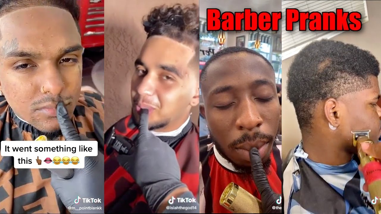 HOW COULD YOU JUST LET THIS HAPPEN?!?! BARBER LIP PRANKS