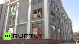 Ukraine: Powerful blast rips through Donetsk department store