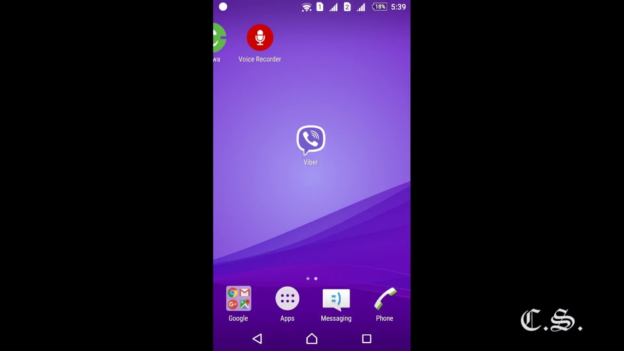 How to hide Viber Chat/Message - 2017