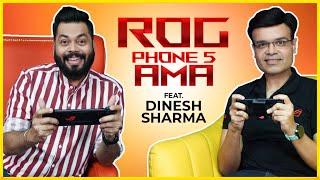ROG 5 내구성, ROG Phone 5 업데이트, 새로운 Zenfone 출시, 예산 게임용 전화 ⚡ Feat. 디 네시 샤르마
