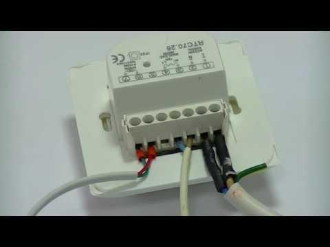 Проверка терморегулятора теплого пола Woks RTC 70.26  (Одескабель)